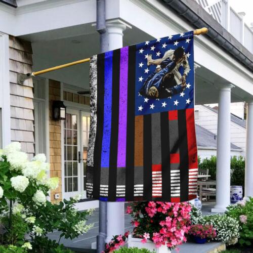 Brazilian Jiu-Jitsu Flag LHA947F Garden and House Flag