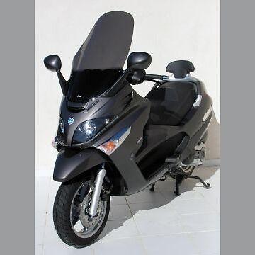 Pare Brise Bulle ERMAX Sport Piaggio MP3 125 250 300 400 2007-2012 Noir Clair