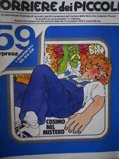 Corriere dei Piccoli 44 1978 DIARIO DI STEFI - LA PIMPA  [C20]