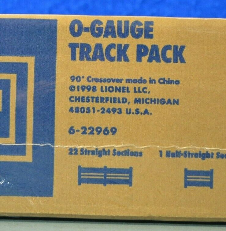 Lionel 622969  oGauge DELUXE TRACK PACKNUOVO IN SCATOLA
