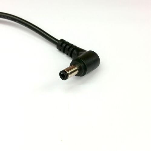 2.5mm Ángulo Derecho 90° Parche Puente Dc Cable de Alimentación 5.5mm x 2.1