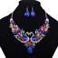 Fashion-Elegant-Women-Rhinestone-Crystal-Choker-Bib-Statement-Pendant-Necklace thumbnail 36