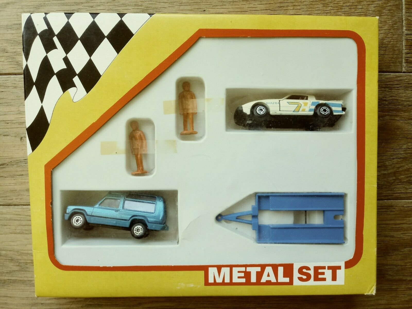 MATCHBOX SET. Made in Bulgaria