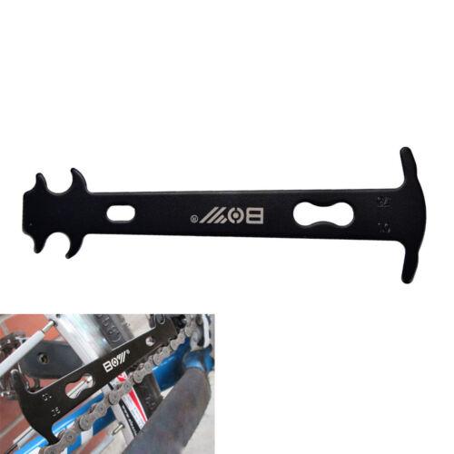 Handle Bike Chain Wear Indicator Steel Bicycle Chain Checker Chain Repair too DD