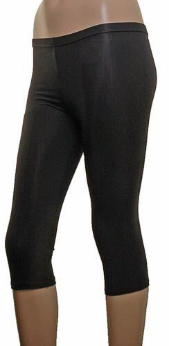 Leggings Calf Lenght MATT BLACK LYCRA *SALE ITEM*