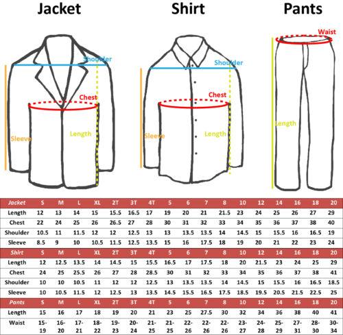 5-7pc Boys White Satin Shawl Lapel Suits Tuxedo BURGUNDY Satin Bow Necktie Vest