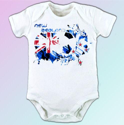 New Zealand football flag white t shirt soccer design mens womens kids baby