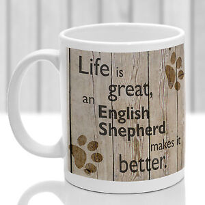 English Shepherd dog mug English Shepherd dog gift ideal present for dog lover - <span itemprop='availableAtOrFrom'>Evesham, United Kingdom</span> - English Shepherd dog mug English Shepherd dog gift ideal present for dog lover - Evesham, United Kingdom