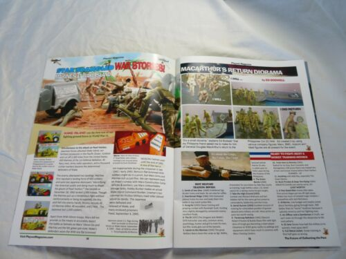 much more Playset Magazine #99 Marx Armed Forces playsets Ideal submarine