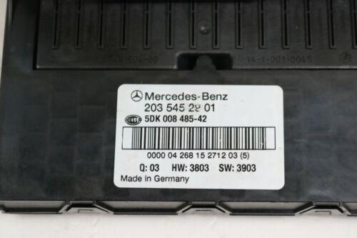 Mercedes Benz w203 SAM Boîte à fusibles 2035452901 Dispositif de commande 5dk008485-42