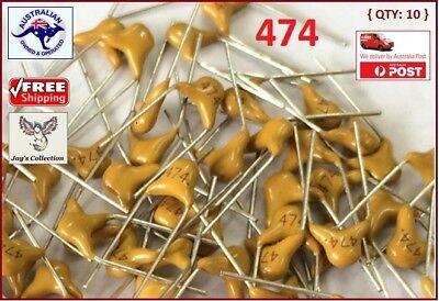 A4G~A16 10 Pcs 0.47uF Monolithic Ceramic Capacitors 474 50V 470nF 474M