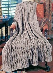 COSY ARAN CABLES AND TWISTS AFGHANBLANKETTHROW   APPROX 45034 x 60034 - CLACTON ON SEA, Essex, United Kingdom - COSY ARAN CABLES AND TWISTS AFGHANBLANKETTHROW   APPROX 45034 x 60034 - CLACTON ON SEA, Essex, United Kingdom