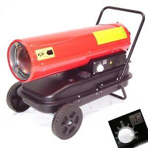 55437 heizkanone 30kw digital diesel heizung lheizger t. Black Bedroom Furniture Sets. Home Design Ideas