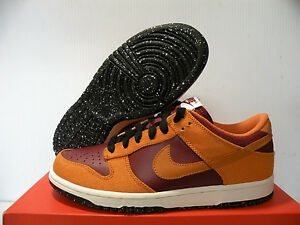 NIKE DUNK LOW CLASSIC SNEAKERS WOMEN SHOES 317815-681 SIZE 10 NEW