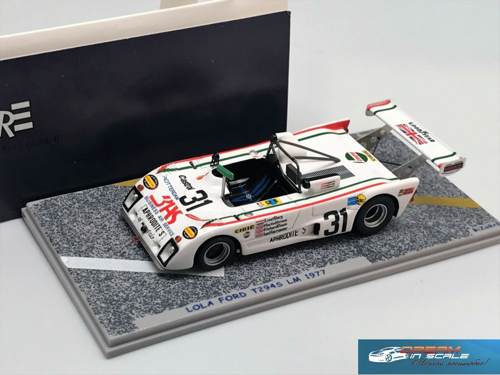 Lola Ford T294S LM 1977 extraño BZ160 1 43