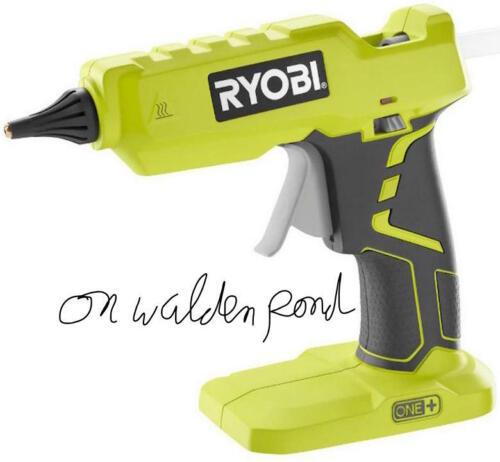RYOBI P305 FULL SIZE GLUE GUN 18-VOLT LI-ION CORDLESS W// GLUE STICKS BRAND NEW