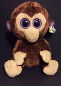 Image is loading Ty-Beanie-Boos-Coconut-Monkey-Extra-Large-Plush 6918aa8a4c3