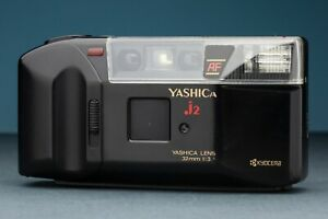 Yashica AF J2 - For Parts - 35mm point & shoot camera 32mm f/3.8 1990s Lomograph