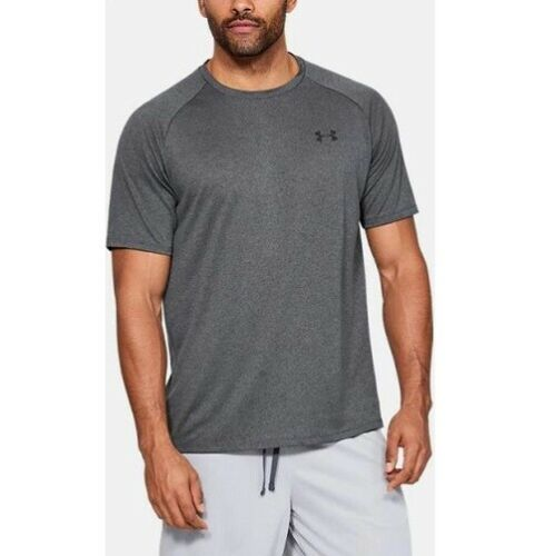 Under Armour 1326413090LG Tech 2.0 Mens Large Dark Gray Short Sleeve T-Shirt
