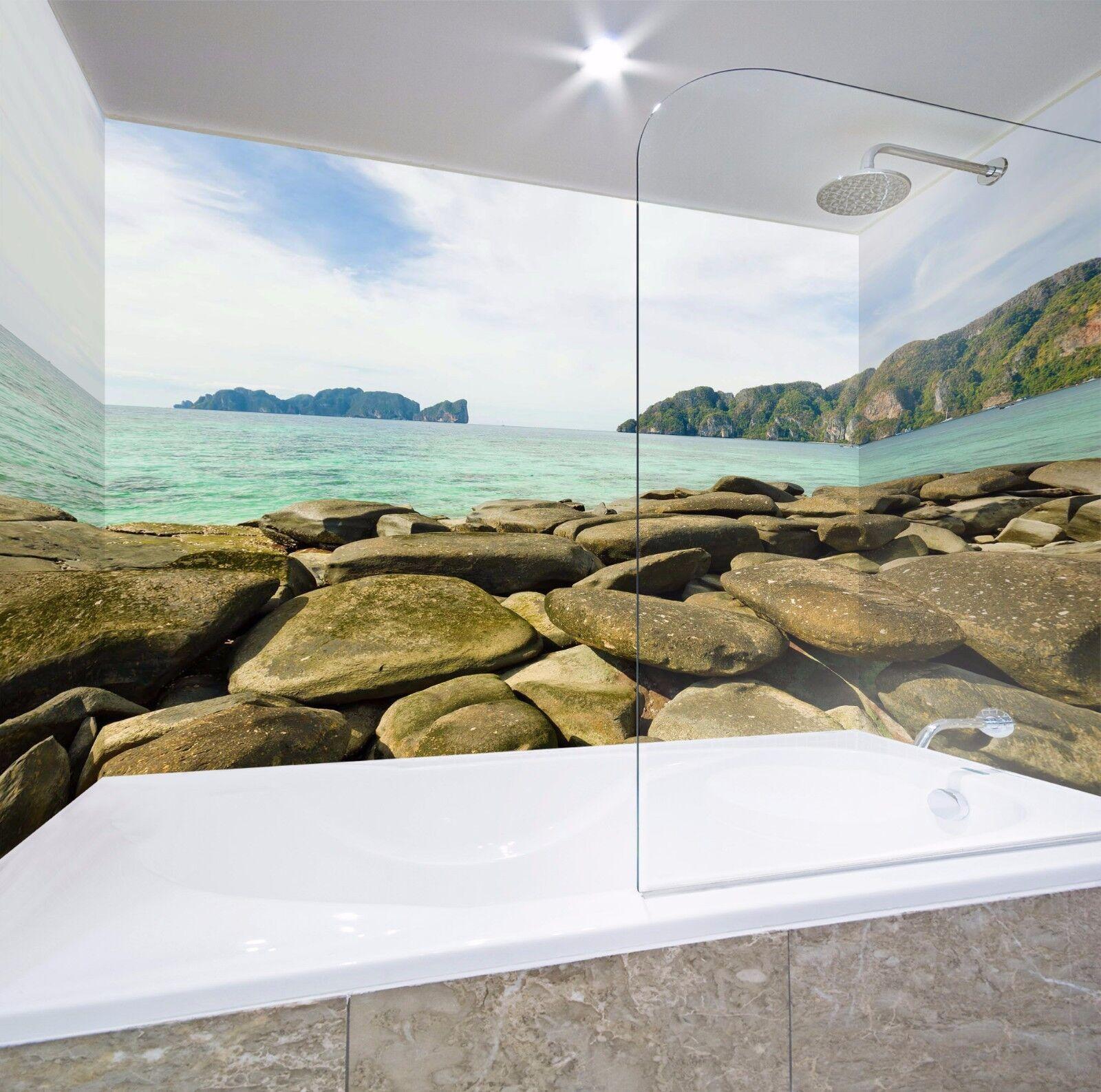 3D Roche 7013  WallPaper Bathroom Print Decal Wall Deco AJ WALLPAPER AU