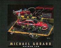 Michael Godard-nasbar 500 Martini-olive-nascar Racing-daytona-las Vegas-poster
