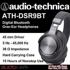 Audio-technica ATH-DSR9BT Bluetooth Over-Ear Headphones Authorized Dealer 2017