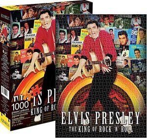 Elvis Presley LP Covers 1000 piece jigsaw puzzle 690mm x 510mm  (nm)