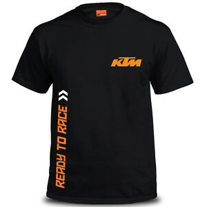Brand New Genuine KTM Sliced Mens T-Shirt Black