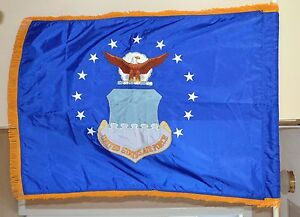 U-S-AIR-FORCE-MILITARY-FLAG-Display-Parade-flag-USAF-GI-ISSUE