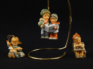 Hummel Christmas Ornaments.Details About Goebel Hummel Christmas Ornaments Children 1997 Set Of 3
