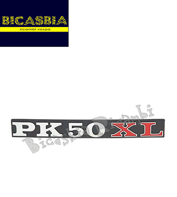 "0095 TARGHETTA COFANO LATERALE VESPA "" PK 50 XL "" PK 50"