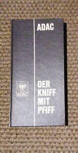 ADAC-Der-Kniff-mit-Pfiff-Ausgabe-1969-Betriebsanleitung