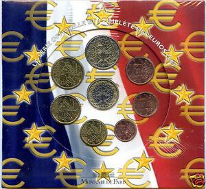 France Boxset Official Bu 2004 8 Coins