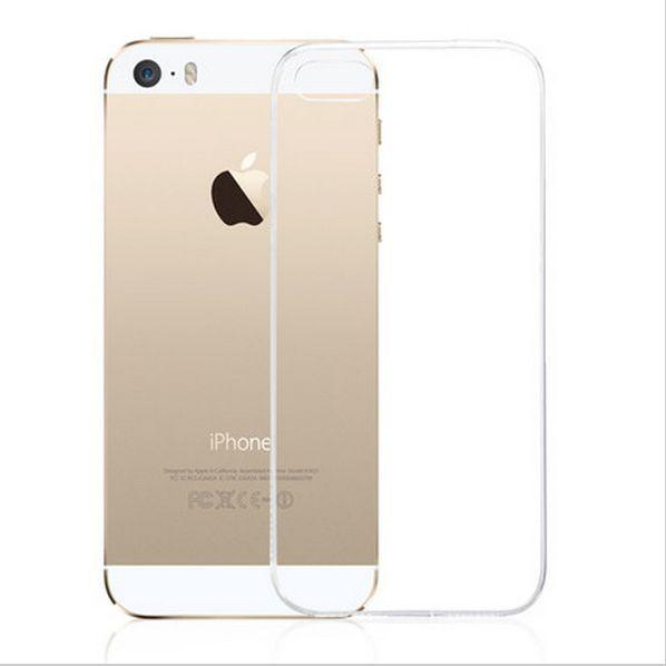 Ultra Slim Case Crystal für Apple iPhone 5  5S SE Silikon 0,3mm transparent klar