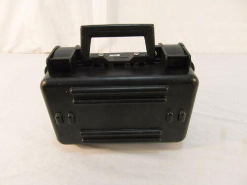 Small Hand Held Black Waterproof Locking Ruggid Dust Proof Hard Case 31157