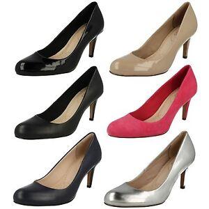 Tacón D Carlita Elegante E Ajustes Mujer De Cove Medio Clarks Zapatos Salón zqn5wp0x