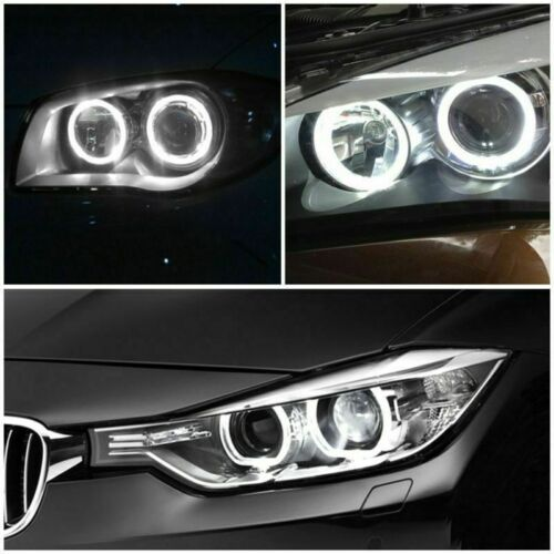 2Pcs Auto Angel Eyes Car LED Halo Ring Light Lamp Bulb For BMW E90 E91 3 Series