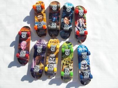 McDonalds Clone Wars Commander Cody Finger Skate Board