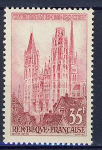Stamp / Timbre France Neuf N° 1129 ** Cathedrale De Rouen