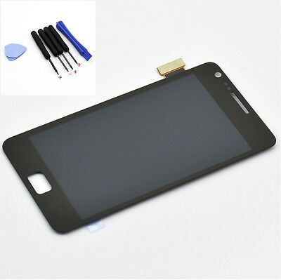 Full LCD Display Digitizer Touch Screen For Samsung Galaxy S 2 I9100 Black+Tools