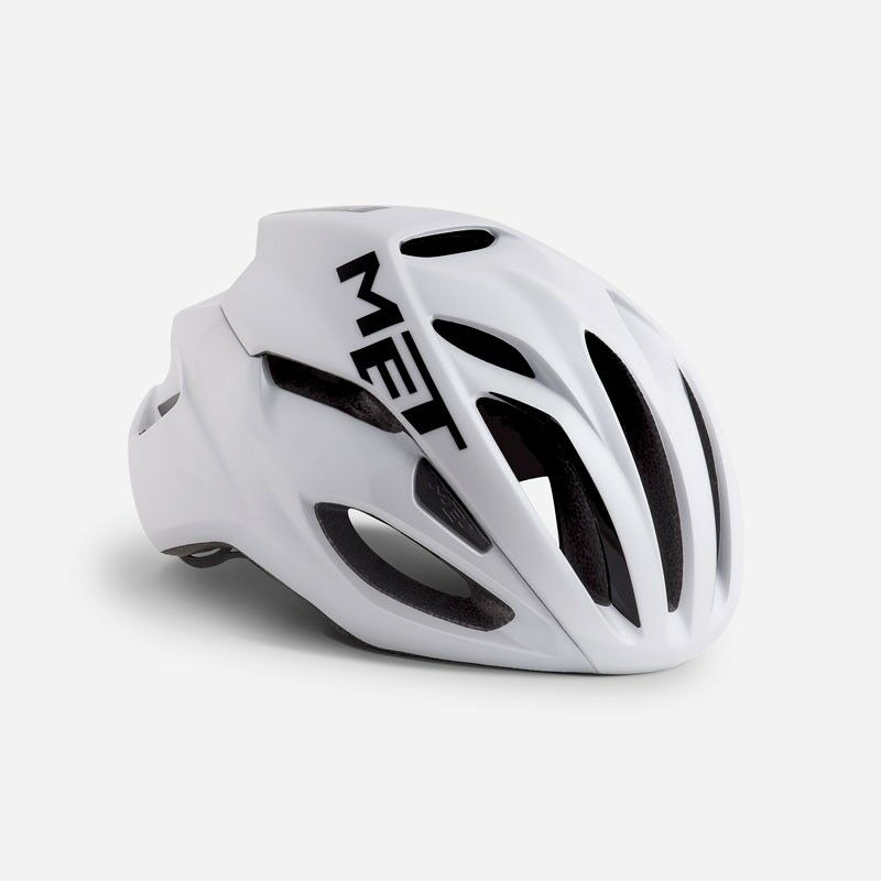Brand New MET Rivale 2019 Road Bike Cycling Helmet Range  - White  best choice
