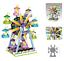 Indexbild 124 - Bausteine LOZ Modell Bausätze DIY Kinder Spielzeug Geschenk Dekoration OVP Neu