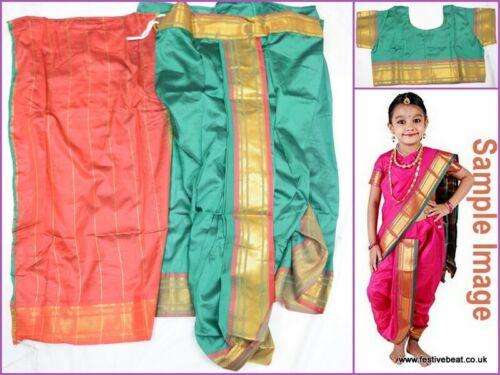 KIDS SAREE Readymade GIRLS ethnic traditional Indian bollywood  SARI dress wear
