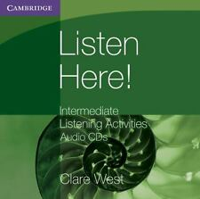Listen Here! Intermediate Listening Activities CDs (Georgian Press), West, Clare