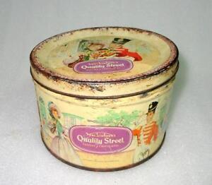 Vintage-Old-Collectible-Rare-Mackintosh-039-s-Toffee-Print-Ad-Litho-Tin-Box-England
