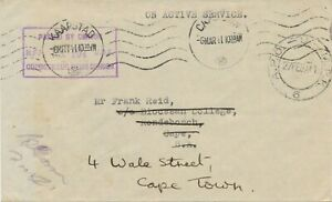 SOUTH-AFRICA-1941-A-P-O-U-M-P-K-6-CDS-fieldpost-cover-w-machine-KAAPSTAD