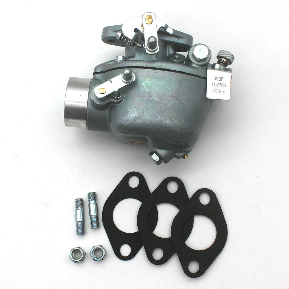 ALL-CARB 312954 Carburetor with Gaskets Fits for Ford Tractor 501 681 701 Marvel-Schebler TSX765