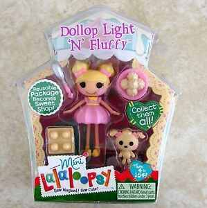 Dollop-Light-n-Fluffy-Mini-Lalaloopsy-Doll-New-5-Series-8-Retired-MGA-Toy