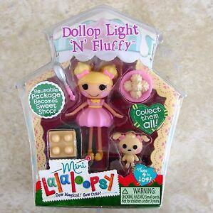 Dollop Light n Fluffy Mini Lalaloopsy Doll New # 5 Series ... Lalaloopsy Dollop Light N Fluffy