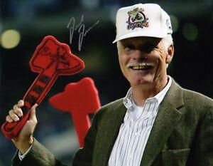 Atlanta Braves Ted Turner Signed 8x10 Photo 1 COA